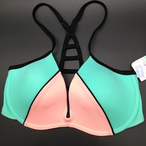 Victoria's Secret PINK Light Push Bikini Top Small